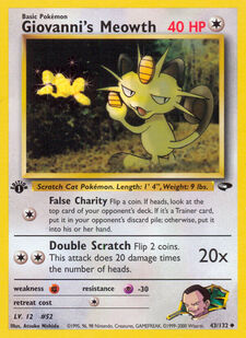 Giovanni's Meowth (G2 43)