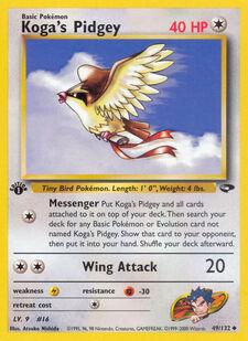 Koga's Pidgey (G2 49)