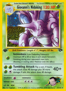 Giovanni's Nidoking (G2 7)