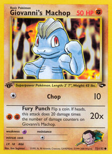 Giovanni's Machop (G2 72)