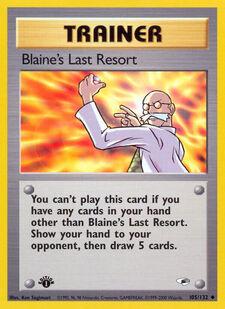 Blaine's Last Resort (G1 105)