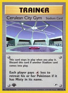 Cerulean City Gym (G1 108)