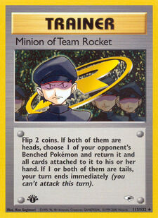 Minion of Team Rocket (G1 113)