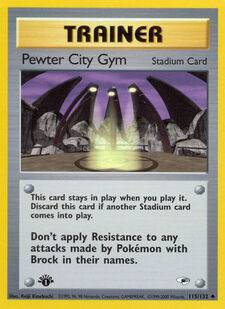 Pewter City Gym (G1 115)