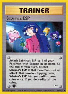 Sabrina's ESP (G1 117)
