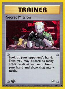 Secret Mission (G1 118)