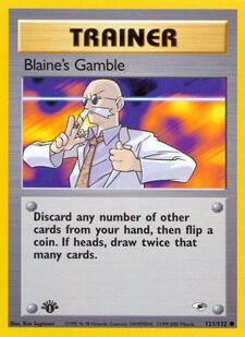 Blaine's Gamble (G1 121)