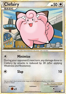 Clefairy (HGSS 60)