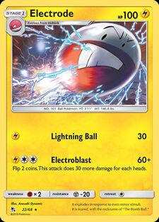 Electrode (HIF 22)