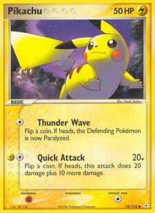 Pikachu (HP 78)
