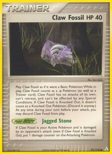 Claw Fossil (HP 91)