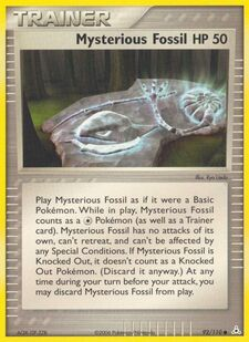 Mysterious Fossil (HP 92)