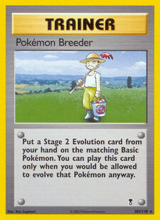 Pokémon Breeder (LC 102)