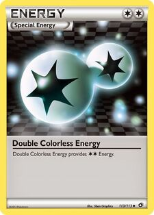 Double Colorless Energy (LTR 113)