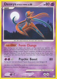 Deoxys Attack Forme (LA 24)