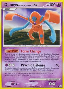 Deoxys Defense Forme (LA 25)