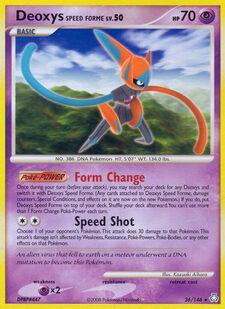 Deoxys Speed Forme (LA 26)