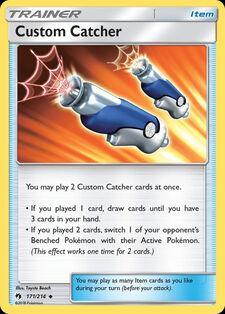 Custom Catcher (LOT 171)