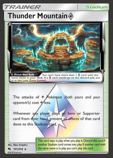 Thunder Mountain Prism Star (LOT 191)