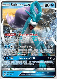 Suicune-GX (LOT 60)