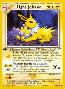 Light Jolteon (N4 48)