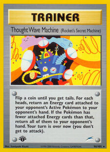Thought Wave Machine (N4 96)