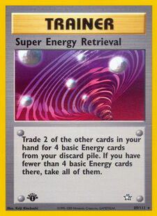 Super Energy Retrieval (N1 89)
