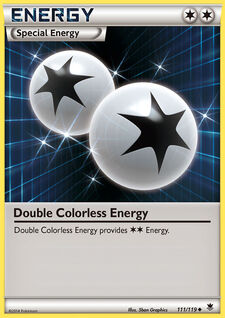 Double Colorless Energy (PHF 111)