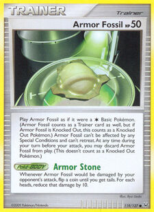Armor Fossil (PL 119)