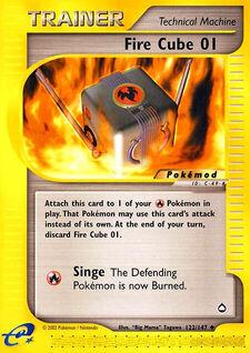Fire Cube 01 (MODAQP 122)