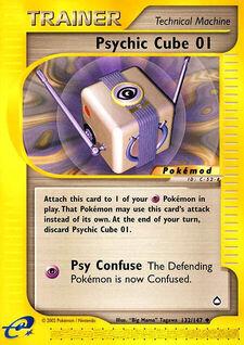 Psychic Cube 01 (MODAQP 132)
