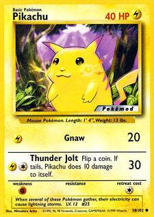 Pikachu (MODBS 58)