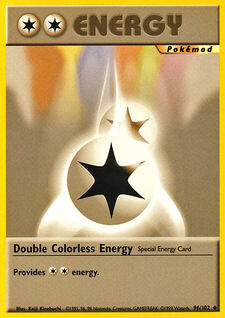 Double Colorless Energy (MODBS 96)