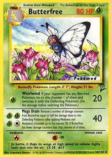 Butterfree (MODBS2 34)