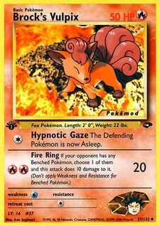 Brock's Vulpix (MODG2 37)