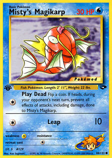 Misty's Magikarp (MODG2 88)