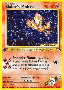 Blaine's Moltres (MODG1 1)