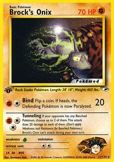 Brock's Onix (MODG1 21)