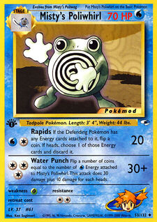 Misty's Poliwhirl (MODG1 53)