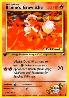 Blaine's Growlithe (MODG1 62)