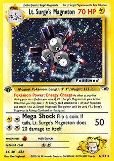 Lt. Surge's Magneton (MODG1 8)