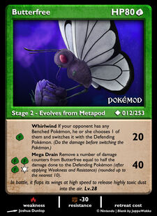Butterfree (MODIMP 12)