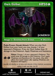 Dark Golbat (MODIMP 42)