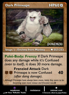 Dark Primeape (MODIMP 57)