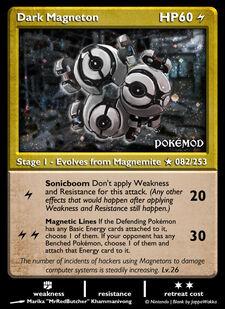 Dark Magneton (MODIMP 82)