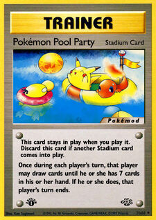 Pokémon Pool Party (MODJU 70)