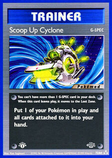 Scoop Up Cyclone (MODJU 72)