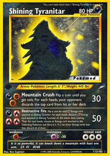 Shining Tyranitar (MODN4 113)