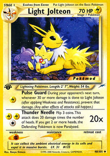 Light Jolteon (MODN4 48)