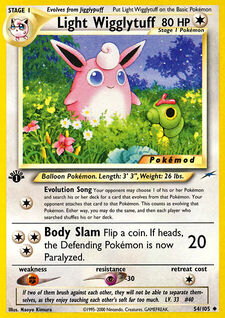 Light Wigglytuff (MODN4 54)